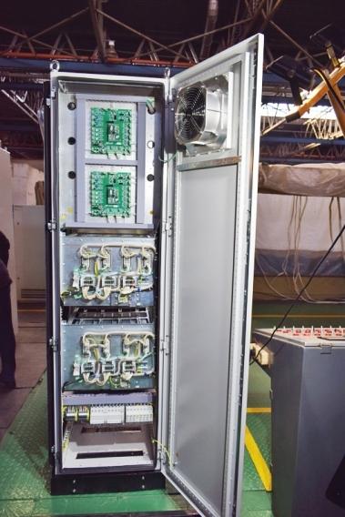 Шкаф управления оперативным током модульного типа